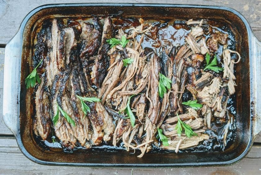 Savory pulled brisket made to taste simply delicious | SCD, GAPS, Paleo, Low oxalate, Low Fodmap